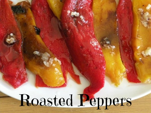 Post image for Roasted Pepper Appetizer with Balsamic Vinegar