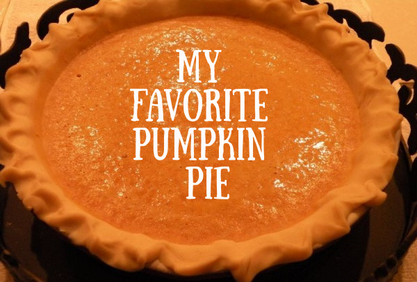 Post image for Our Favorite Family Pumpkin Pie