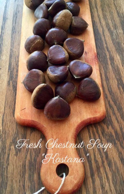 Post image for Creamy Chestnut Soup – Kastana