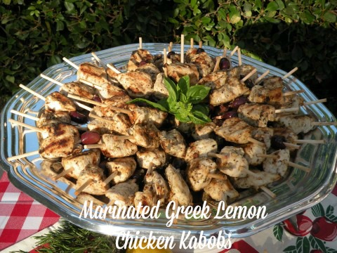 Post image for Marinated Greek Lemon Chicken Ka-Bobs