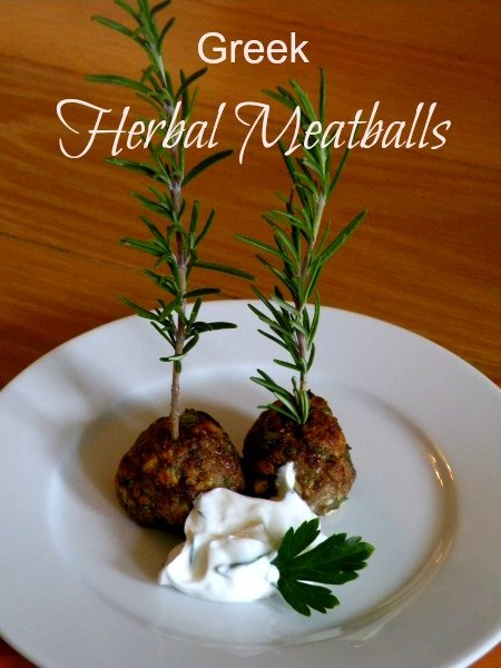Post image for Greek Herbal Meatballs – Keftedakia