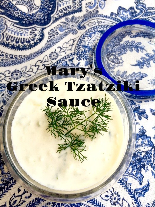 "Post image for Greek Yogurt Sauce  ""Tzatziki Sauce"""