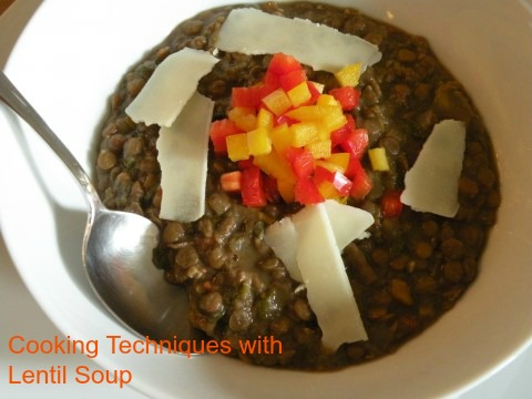 Post image for Cooking Techniques: Lentil Soup with Balsamic Vinegar