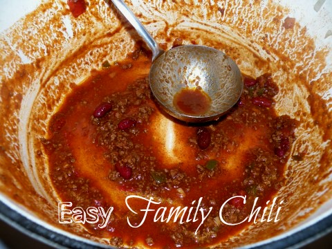 Post image for Easy Family Chili