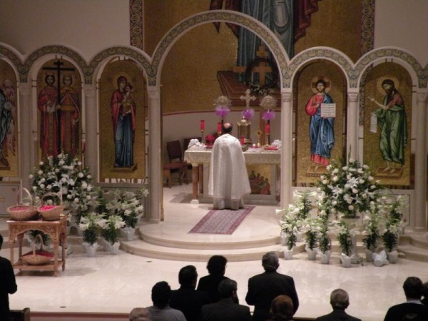 Post image for Holy Saturday at St. Constantine and Helen