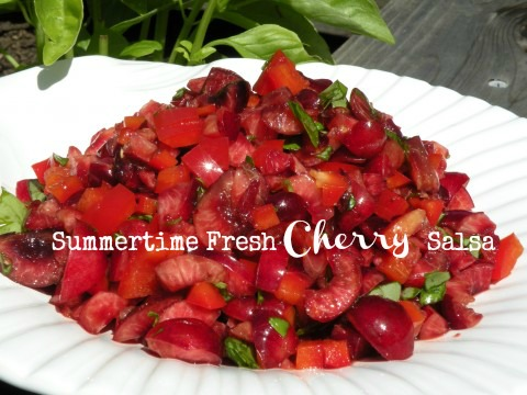 Post image for Summertime Fresh Cherry Salsa
