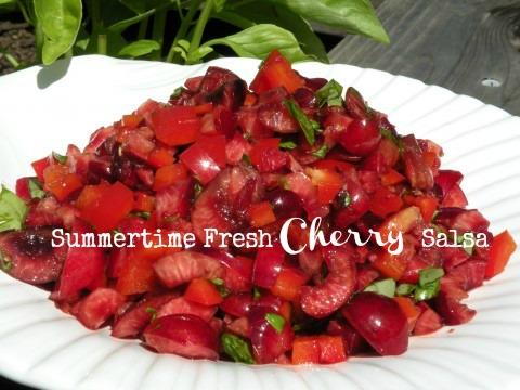 Post image for Summertime Fresh Cherry Salsa