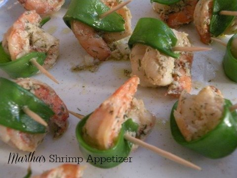 Post image for Shrimp with Mustard Vinaigrette Wrapped in Snow Peas