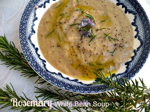 Post image for Rosemary White Bean Soup