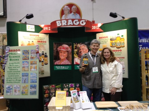 Post image for George Vutetakis Stopping by the Bragg Booth at Expo West