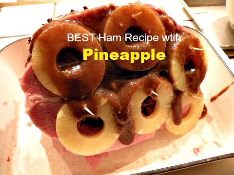 Post image for Best Ham with Pineapple-Maple Glaze
