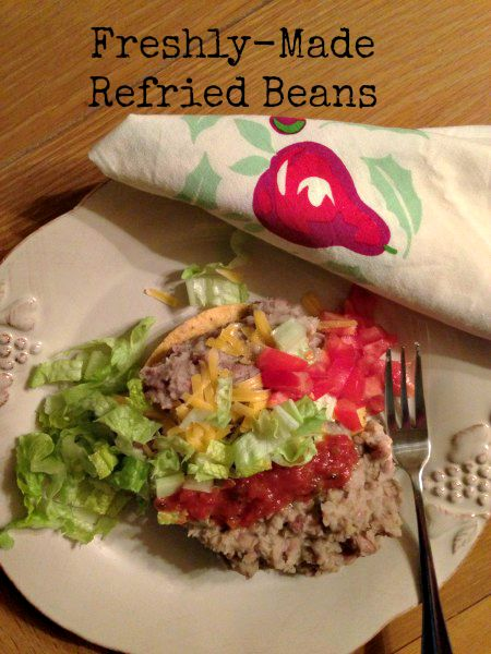 Post image for Freshly-Made Refried Beans