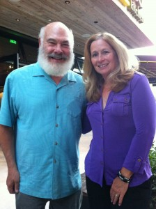 Dr. Weil  and me at the opening of True Foods