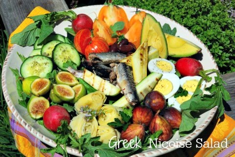 Post image for Greek Garden Nicoise Salad