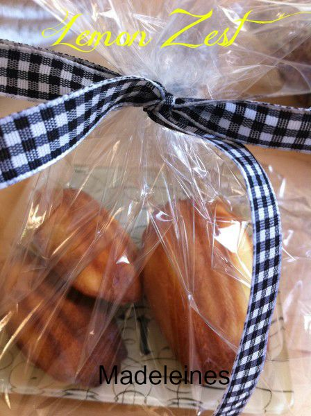 Post image for Lemon Zest Madeleines and a Special Gift!