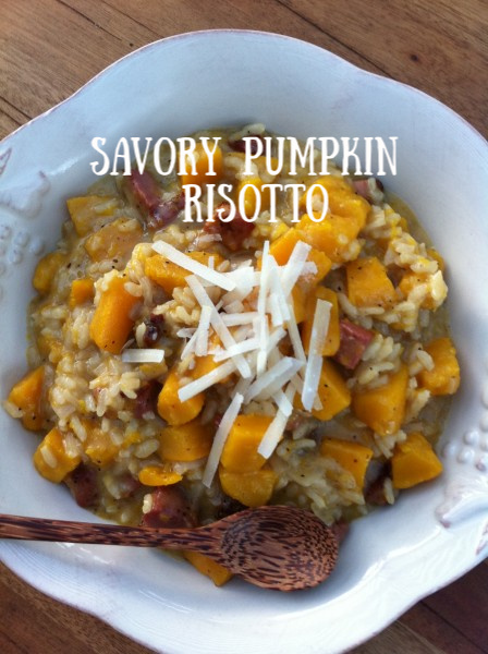 Post image for Pumpkin and Pancetta Risotto with Parmesan