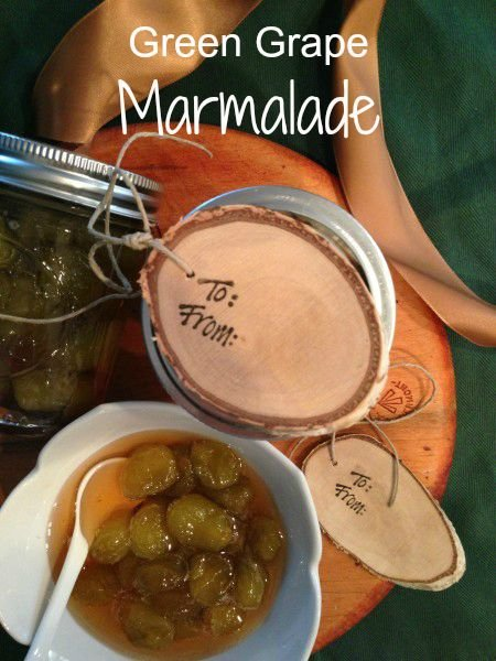 Post image for Green Grape Marmalade