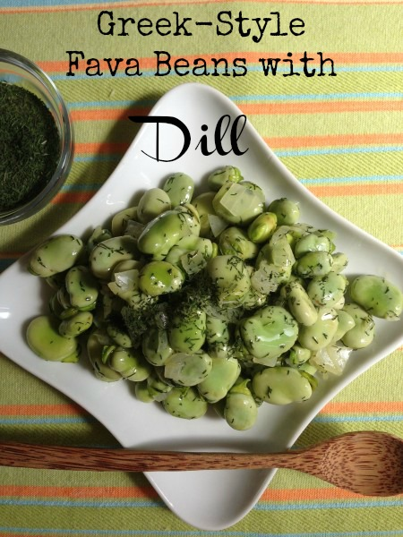 Post image for Greek-Style Fava Beans with Dill