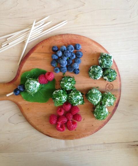 Feta - Kasseri Cheese Balls with Fresh Herbs - California Greek Girl ...