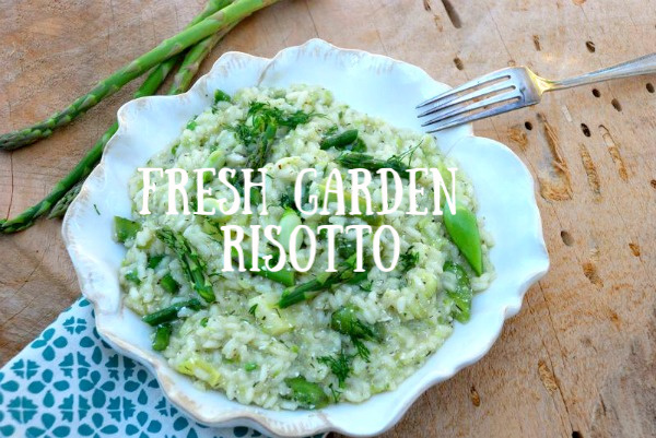 Post image for Spring Garden Vegetable Risotto
