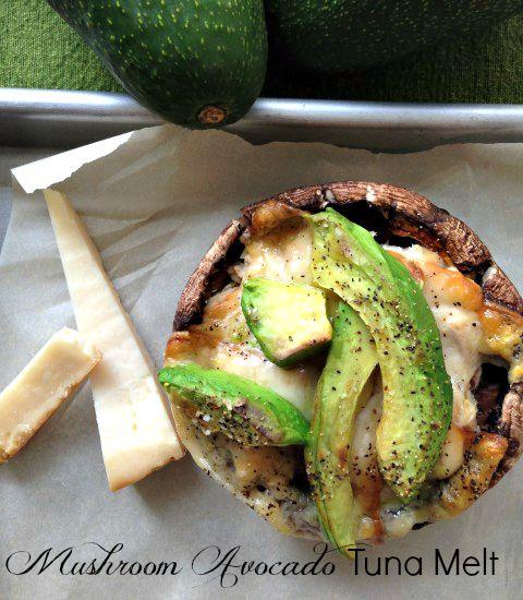 Post image for Mushroom Avocado Tuna – Melt