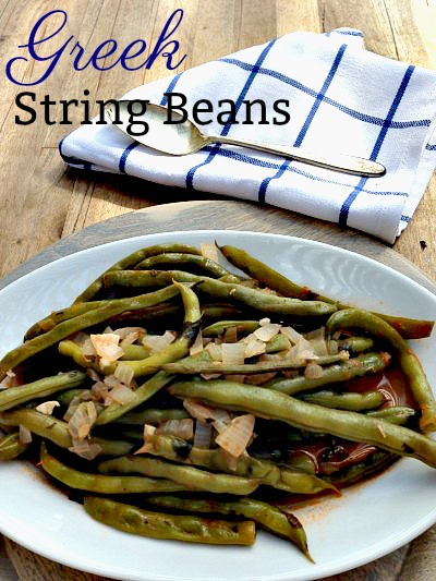 Greek -Style Green Beans