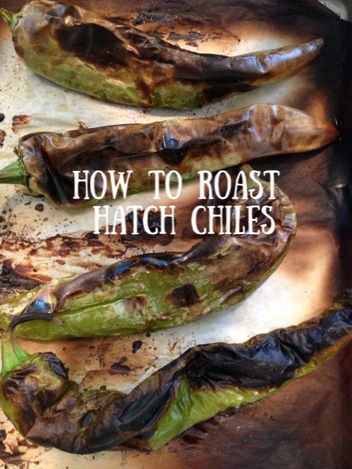 Post image for How to Roast Hatch Chiles