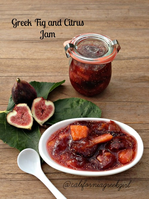 "Post image for Greek Fig and Citrus Jam – ""Sikko"""