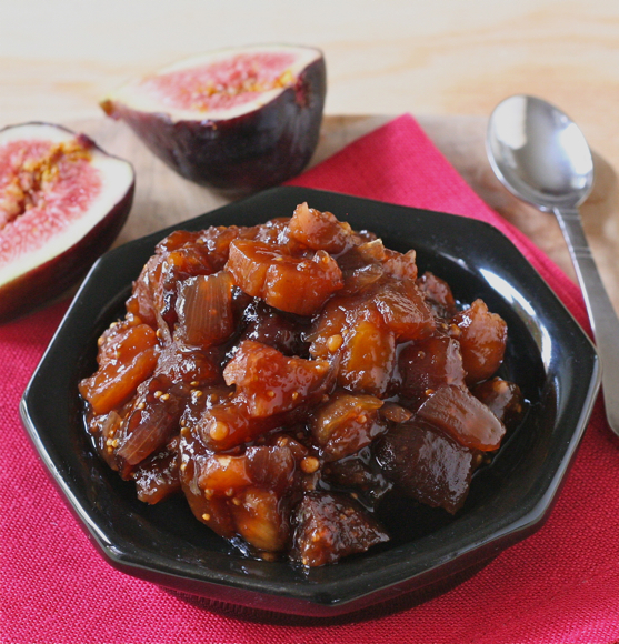 Post image for Here-Comes-Fall Fig Chutney @LizTheChef