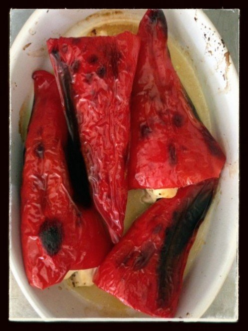 Post image for Kapia Peppers Stuffed with Feta!