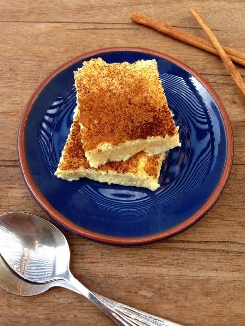 "Post image for Greek Custard with Cinnamon ~ ""Galiopita"""