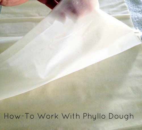 Post image for How-To Work with Phyllo Dough