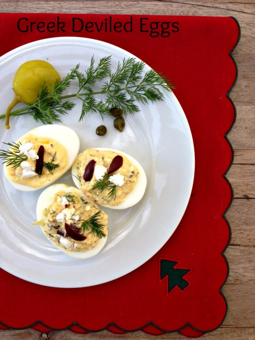 Post image for Greek Deviled Eggs with Feta