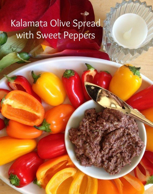 Post image for Kalamata Olive Spread with Mini Sweet Peppers