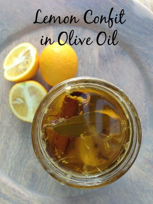 Post image for Lemon Confit in Extra Virgin Olive Oil