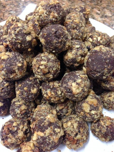 melissa's chocolate truffles