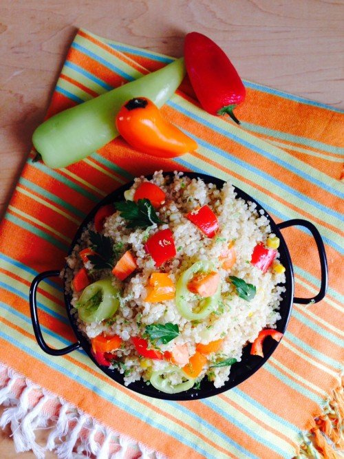 Post image for Cinco de Mayo Vegetable Quinoa