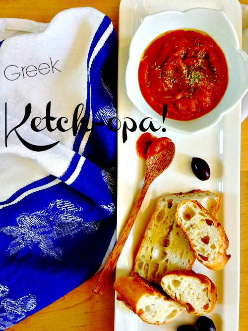 Post image for Greek Tomato Ketch-opa!