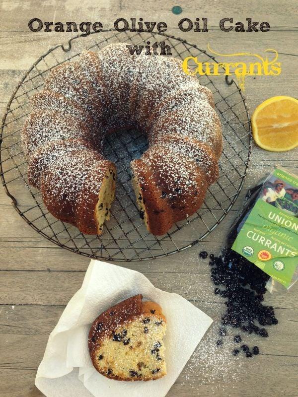 Post image for Orange Olive Oil Bundt Cake with Currants
