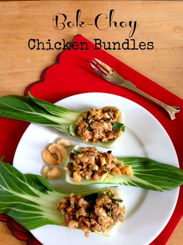 Post image for Bok Choy Chicken Bundles