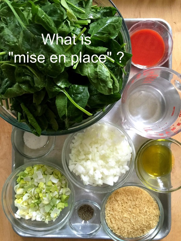 """Post image for What is """"mise en place""""? Tuesday Technique"""