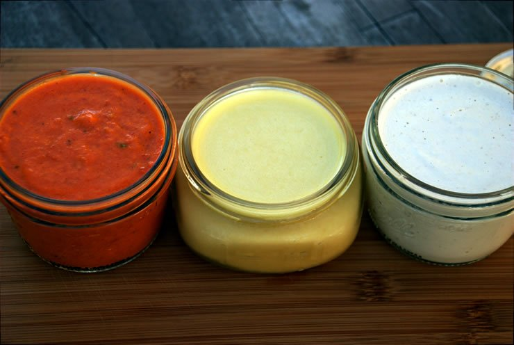 Post image for Three Plant Based Sauces To Make at Home