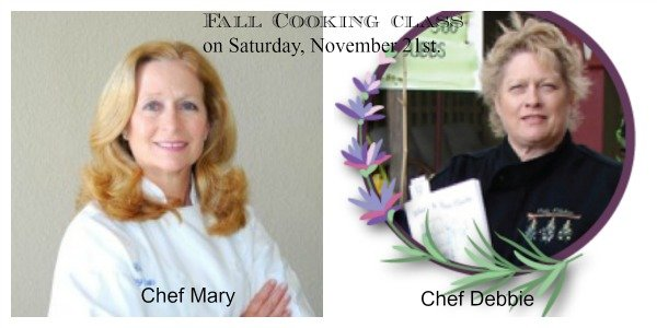 Post image for Fall Cooking Class and Book Signing at Temecula Olive Oil on Saturday, November 21st