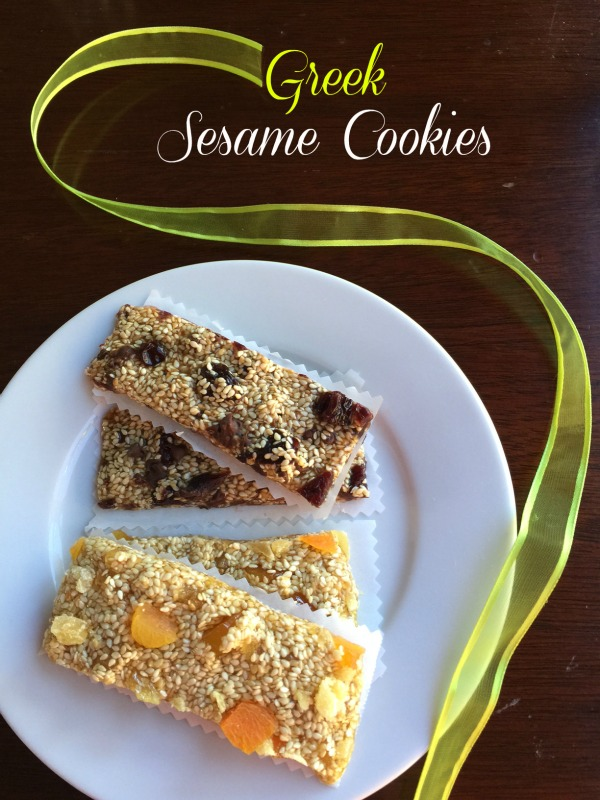 Post image for Greek Sesame Cookies – Pasteli