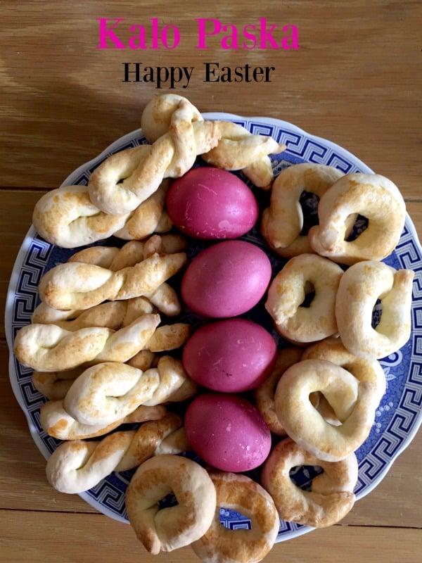 Post image for Happy Greek Easter (Kalo Paska) , Happy May Day and Kalo Mina!