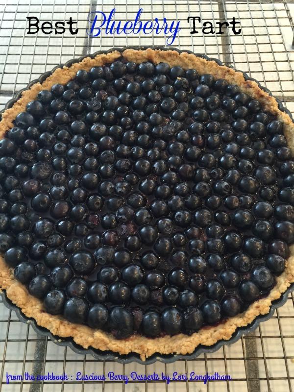 Post image for Best Blueberry Tart