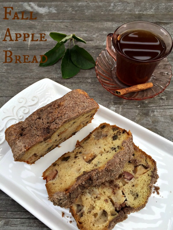 Post image for Fall Apple Bread