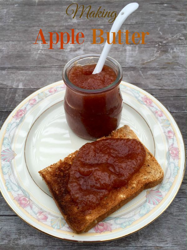 Post image for Making Apple Butter