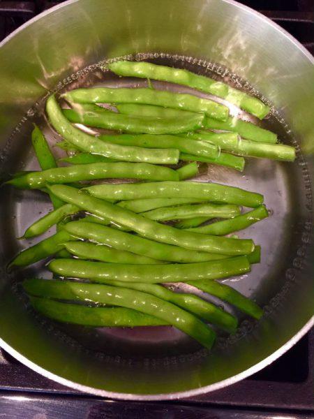 spiced green beans