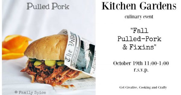 Post image for It's Fall and It's Time for a Pulled-Pork Class